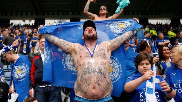 Fanáticos del Leicester City