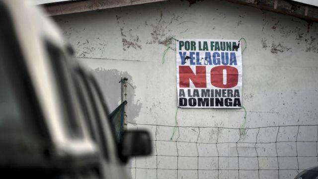 En Chile ha habido una fuerte oposición al proyecto Dominga.