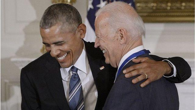 Обама і Байден