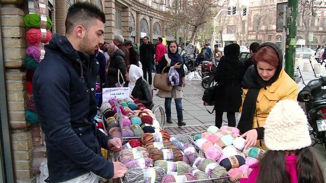 Iran sanctions: Traders in Tehran react to lifting of sanctions