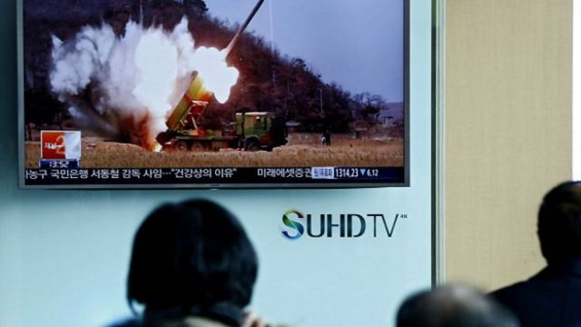 Korea ya ruguru yateye izindi missile