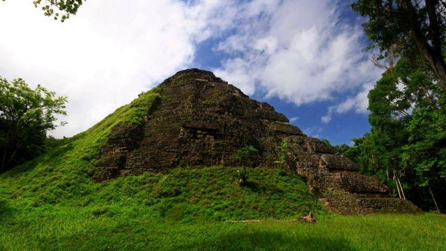 Ruínas maias em Tikal, na Guatemala