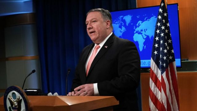 マイク・ポンペオ米国務長官は、イランに対し「最大限の圧力」をかけたいとしている