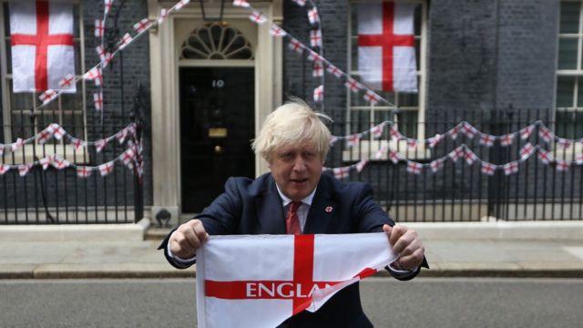 Премьер-министр Британии Борис Джонсон