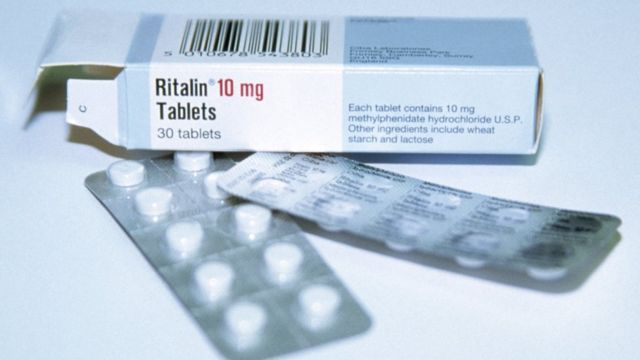Caixa de Ritalina