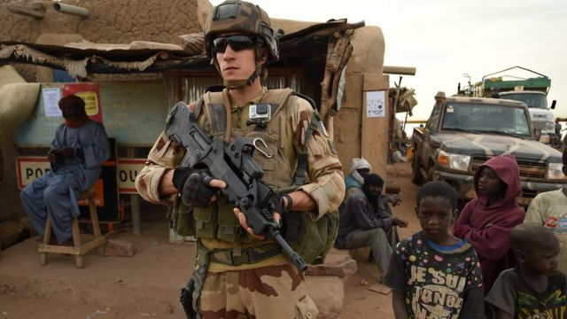 French soldier killed by landmine in northern Mali