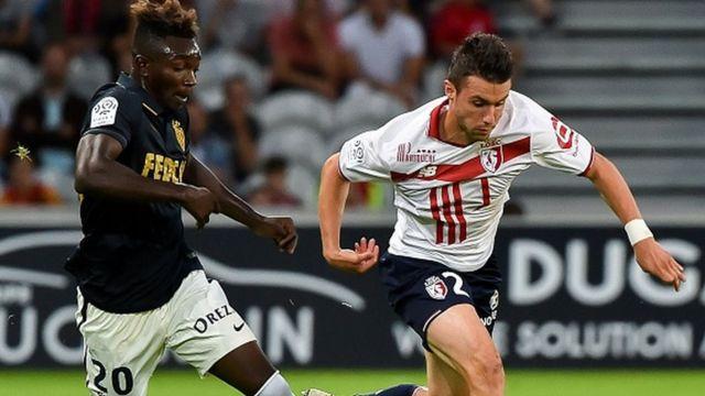 L'un des 4 buts monégasques a été inscrit par le malien Adama Traoré.