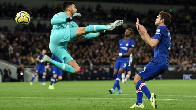 Ifẹsẹwọnsẹ Chelsea ati Tottenham