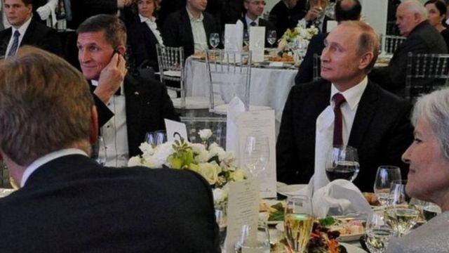 Michael Flynn ve Vladimir Putin