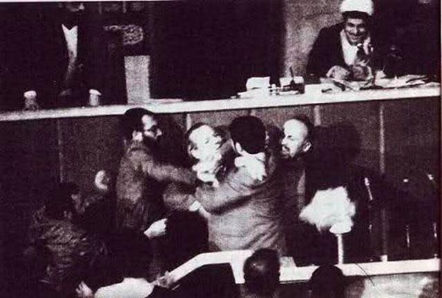 هاشمی رفسنجانی رئیس مجلس