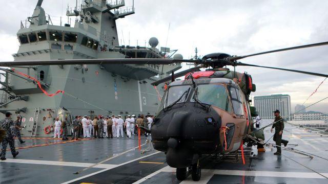 Hải quân Úc thăm Philippines