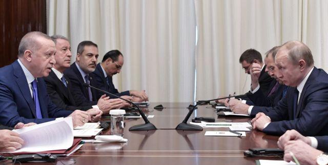 Erdoğan ve Putin 19 Ocak'ta Berlin'de bir araya geldi
