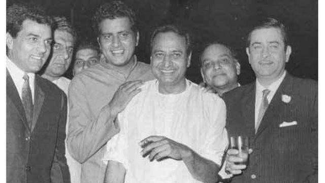 धर्मेंद्र, मनोज कुमार, प्राण, राज कपूर