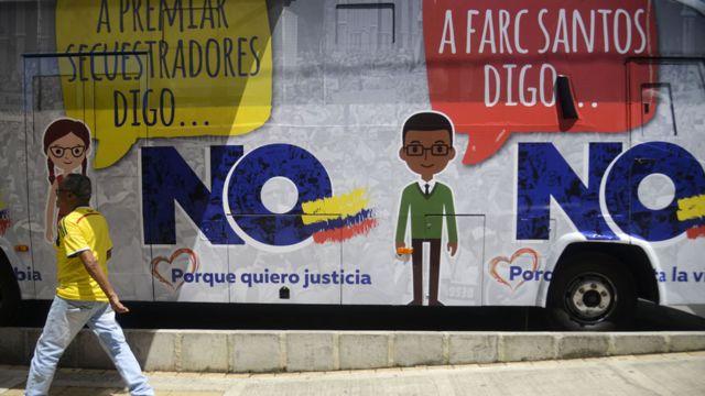 """Campaña por el """"No"""" en el plebiscito de Colombia"""