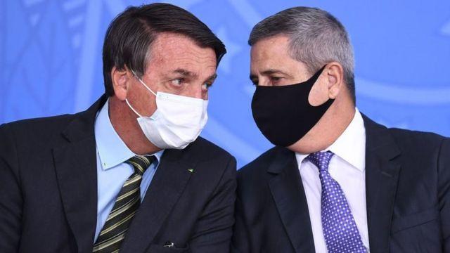 Bolsonaro e Braga Netto