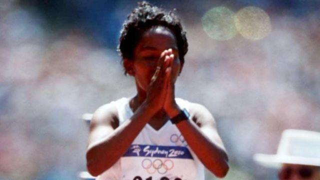 Agueda Amaral at the Sydney Olympics