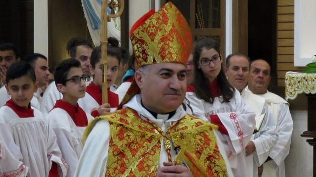الأب بشار وردة، كبير أساقفة كاتدرائية مار يوسف في إربيل العراقية