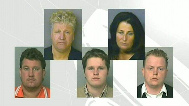 A family convicted of slavery related offences in 2012