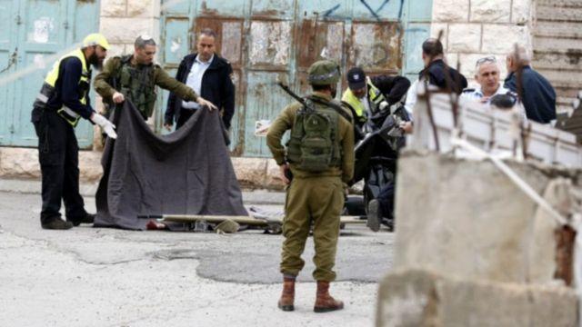 قتل مهاجم فلسطینی