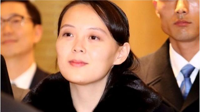 Bà Kim Yo-jong