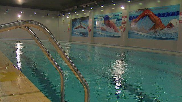 Swimming pool in Saudi Arabian de-radicalisation complex