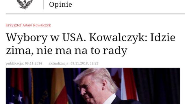 Polşanın Rzeczpospolita xəbər saytı