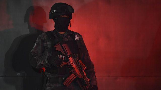 Policía de élite mexicano