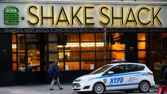 Tienda de Shake Shack en Nueva York.
