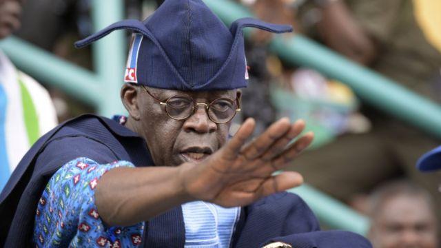 Tsohon gwamnan Lagos Bola Ahmed Tinubu