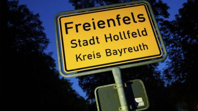 Freienfels kəndinin nişanəsi