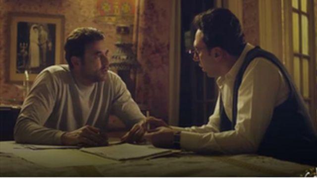مشهد من مسلسل (أبو عمر) الذي أثار كل هذا الجدل