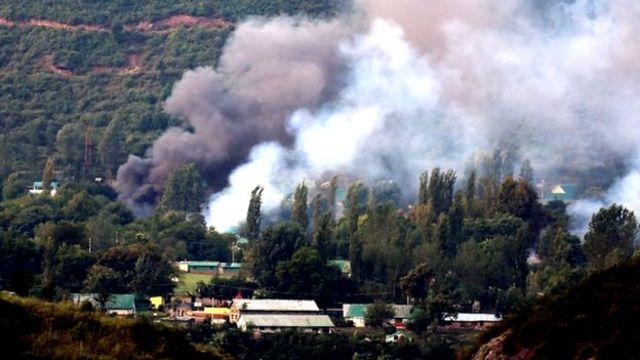 انفجار در پایگاه نیروهای هندی در کشمیر