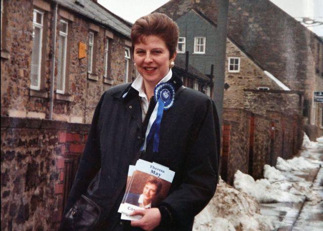 Тереза Мэй в 1992 году