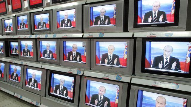 Путин на экранах