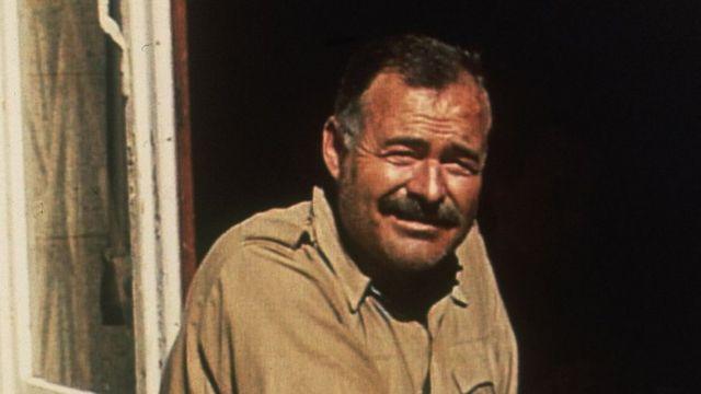 Hemingway in 1944.