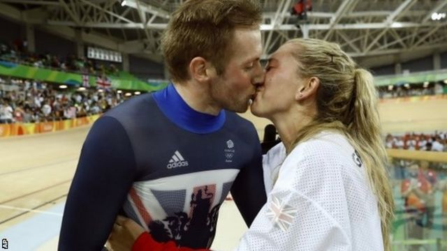 Jason Kenny e Laura Trott