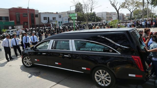 hearse for hospital inside lima