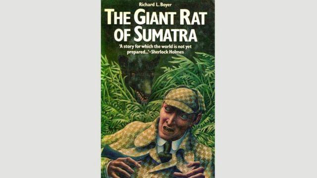 """La portada de una edición de """"La rata gigante de Sumatra"""""""
