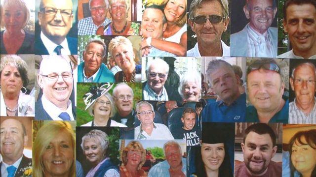 Les 30 britanniques tués lors des attaques de Sousse