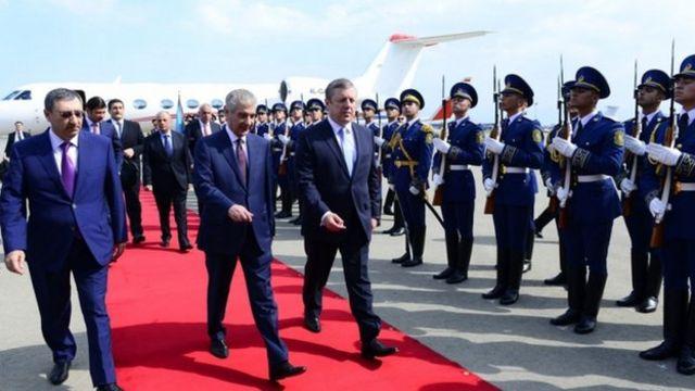 Gürcüstanın baş naziri Azərbaycana rəsmi səfərə gəlib