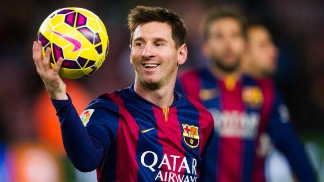 Lionel Messi ne ya lashe gasar a shekarar 2015 a karo na biyar