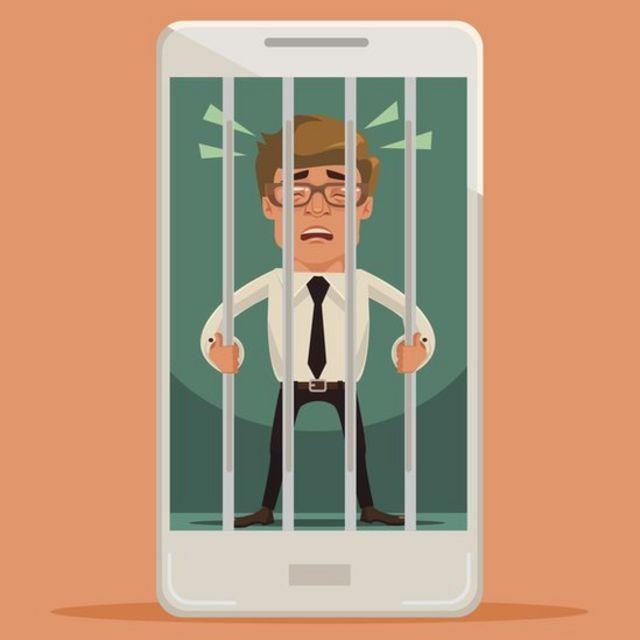 """Shaffir se siente """"liberado"""" de su adicción al celular."""