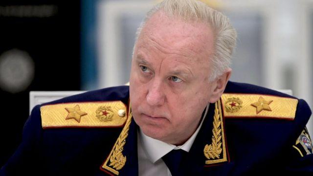 Глава российского следственного комитета Александр Бастрыкин