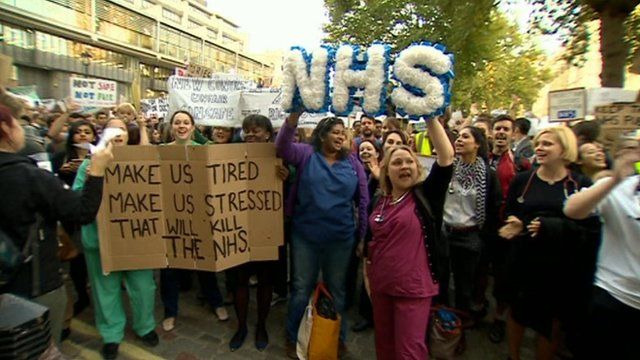 Protest NHS