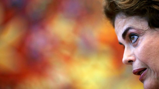 Dilma Rousseff em foto de 14 de junho