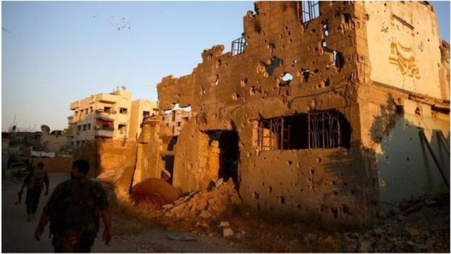 Intambara yo muri Syria imaze guhitana abantu barenga 250.000