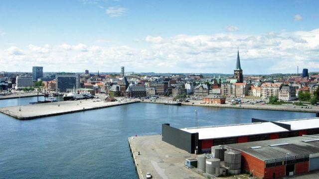Imagen de la ciudad de Aarhus, en Dinamarca.