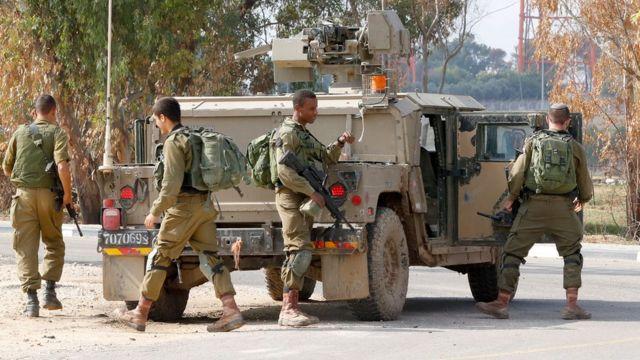 إسرائيل أرسلت جنودا إلى المنطقة