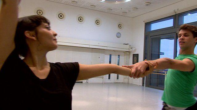 Dancers Seeta Patel and Nicol Edmunds
