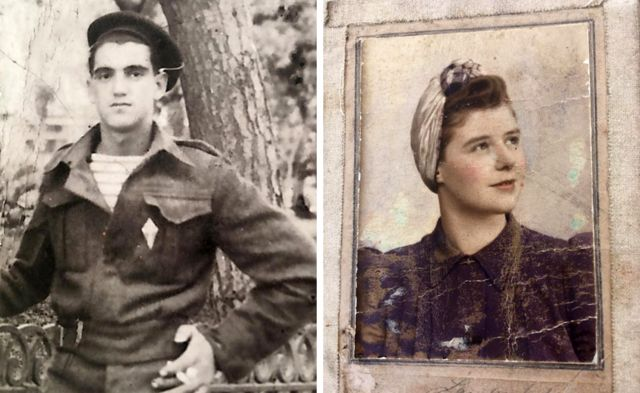Leon Gautier and the precious photo of Dorothea, whom he later married